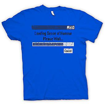キッズ t シャツ - 読み込みのユーモアのセンス - お待ちをください。