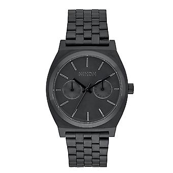 Nixon The Time Teller Deluxe All Black (A922001)