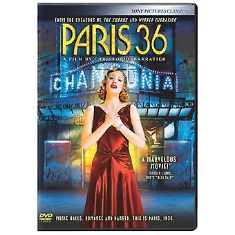 Paris 36 [DVD] Importation USA