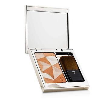Cle De Peau Luminizing Face Enhancer (Case + Refill) - # 15 Golden Apricot 10g/0.35oz