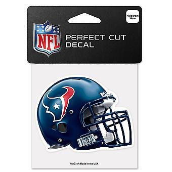Wincraft Helmet Sticker 10x10cm - NFL Houston Texans