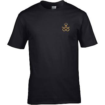Staffordshire Regiment - Licensed British Army Embroidered Premium T-Shirt