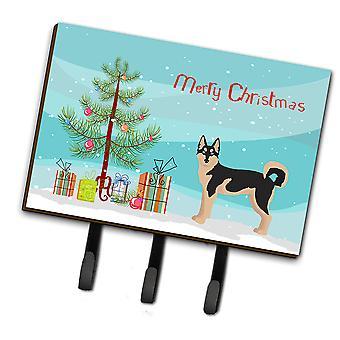 Gerberian Shepsky #2 Christmas Tree Leash or Key Holder