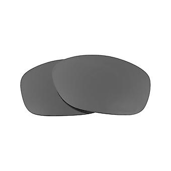 Replacement Lenses Compatible with OAKLEY PIT BULL Polarized Black Iridium