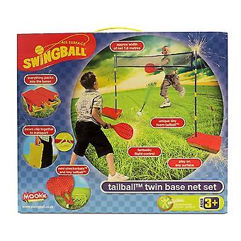 Base Twin Swingball Tailball & Net Set