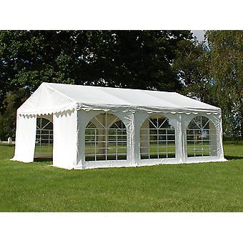 Tente de réception Original 4x6m PVC, Blanc