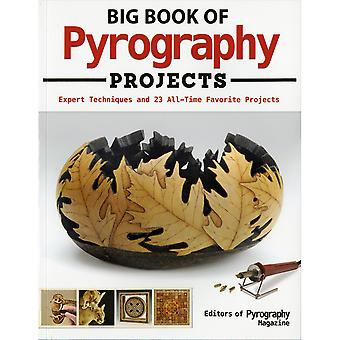 Fox Chapel-Big Book Of Pyrography Projects FOX-38886