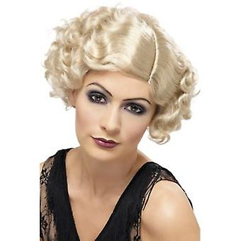 Smiffys 20'S Flirty Flapper Wig Blonde Short And Wavy (Kostüme)