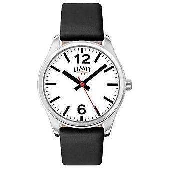 Limit Womens Black Strap White Dial 6181 Watch