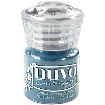 Nuvo Embossing Powder .74oz.-Odyssey Blue NEP-609