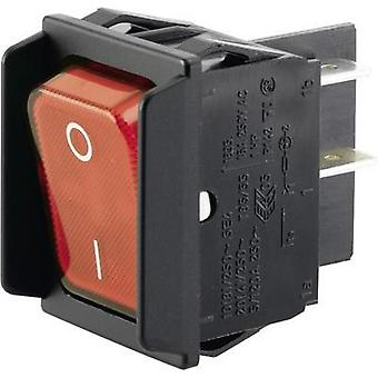 Toggle switch 250 Vac 16 A 2 x Off/On Marquardt 01835.3602-00 IP40 latch 1 pc(s)