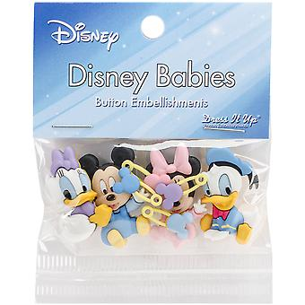 Dress It Up Licensed Embellishments-Disney Babies DIULBTN-7722