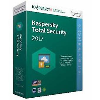 Kaspersky Antivirus Total security 2017 3 (Home , Electronics , Software , Antivirus)
