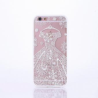 Mobile case mandala for Apple iPhone 6s plus design case cover motif dress cover bag bumper white