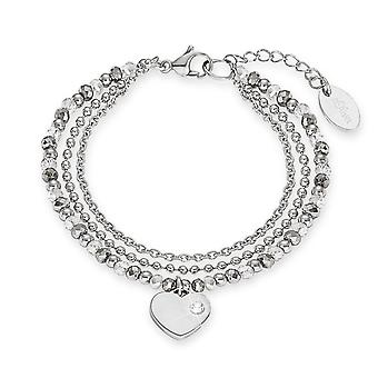s.Oliver jewel ladies bracelet stainless steel heart 2012530
