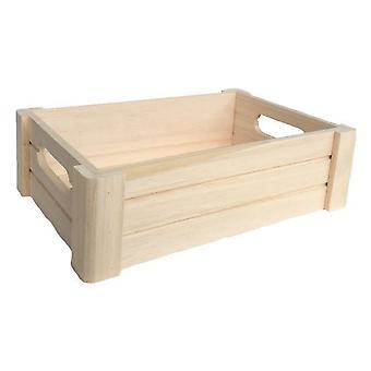 Pequeño cajón de madera