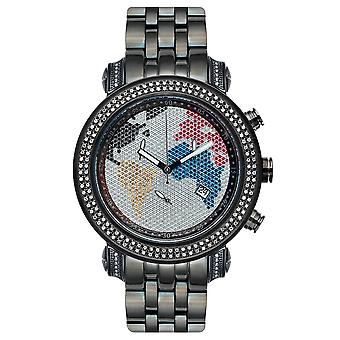 Joe Rodeo diamond men's watch - TYLER Black 2 ctw