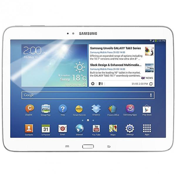 Screen protector for Samsung Galaxy tab 3 10.1 P5200 P5210 accessories + polishing cloth