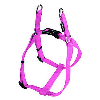 Creaciones Gloria Harness One Touch Nylon Smooth Adjustable Pink