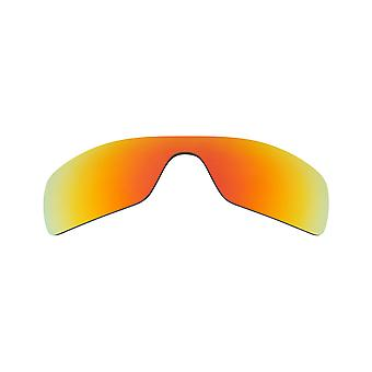 New SEEK Polarized Replacement Lenses for Oakley BATWOLF Red Mirror