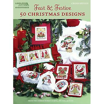Fast & Festive 50 Christmas Designs (Paperback) by Design Works Crafts