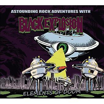 Sort eksplosion - elementer af Doom [Vinyl] USA import