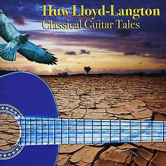 Huw Lloyd-Langton - importación de USA de cuentos clásicos de guitarra [CD]
