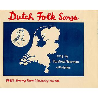 Jantina Noorman - importation USA Dutch Folk Songs [CD]