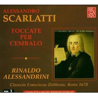 A. Scarlatti - Alessandro Scarlatti: Toccate pr. Cembalo [CD] USA import