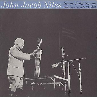 John Jacob Niles - John Jacob Niles Sings Folk Songs [CD] USA import