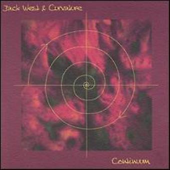 Jack West & Krümmung - Kontinuum [CD] USA import
