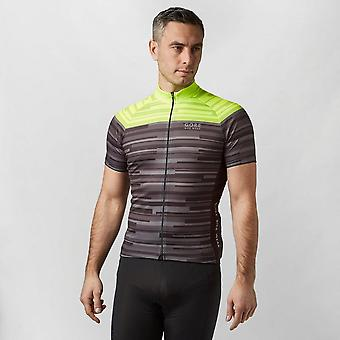 Gore Men's Striped Cycling Jersey