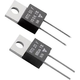 High power resistor 47 Ω Axial lead TO 220 50 W Vi