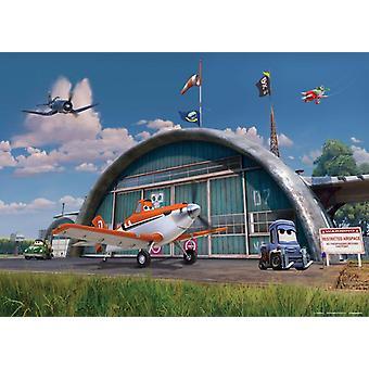 Disney Planes decoratie muurschildering 160x115cm