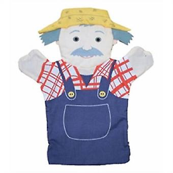 The Puppet Company Hand Puppets Farmers (Toys , Preschool , Theatre And Puppets)