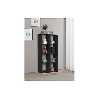Birlea 8 Cube Shelving Unit In Black