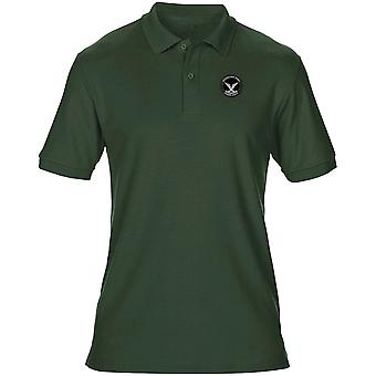 Rhodesian Army Selous Scouts Special Forces Embroidered Logo - Mens Polo Shirt