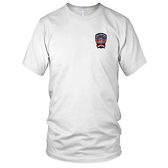 US Army - 1st Battalion 229th Aviation Attack Regiment - C Company Embroidered Patch - Mens T Shirt