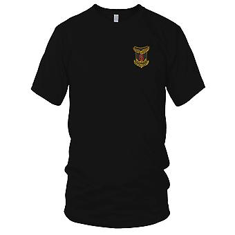 6. ARVN Marines enn Ung Cam Tu - militære emblemer Vietnamkrigen brodert Patch - Mens T-skjorte