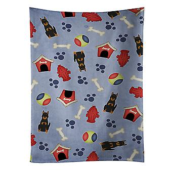 Dog House Collection Beauce Shepherd Dog Kitchen Towel