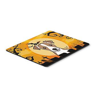 Halloween Jack Russell Terrier Mouse Pad, Hot Pad or Trivet
