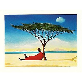 Turkana eftermiddag plakat Print af Tilly Willis (32 x 24)