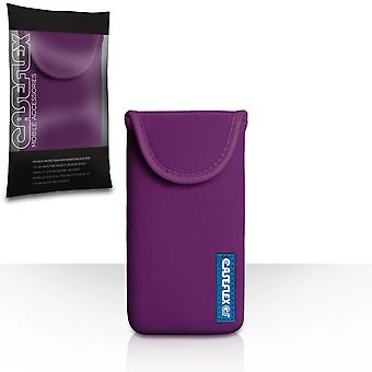 Caseflex Neoprene Pouch -  Dark Purple (S)