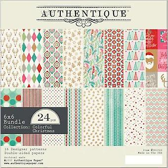 Authentique Double-Sided Cardstock Pad 6