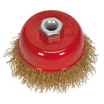 Sealey Cbc75 Brassed Steel Cup Brush