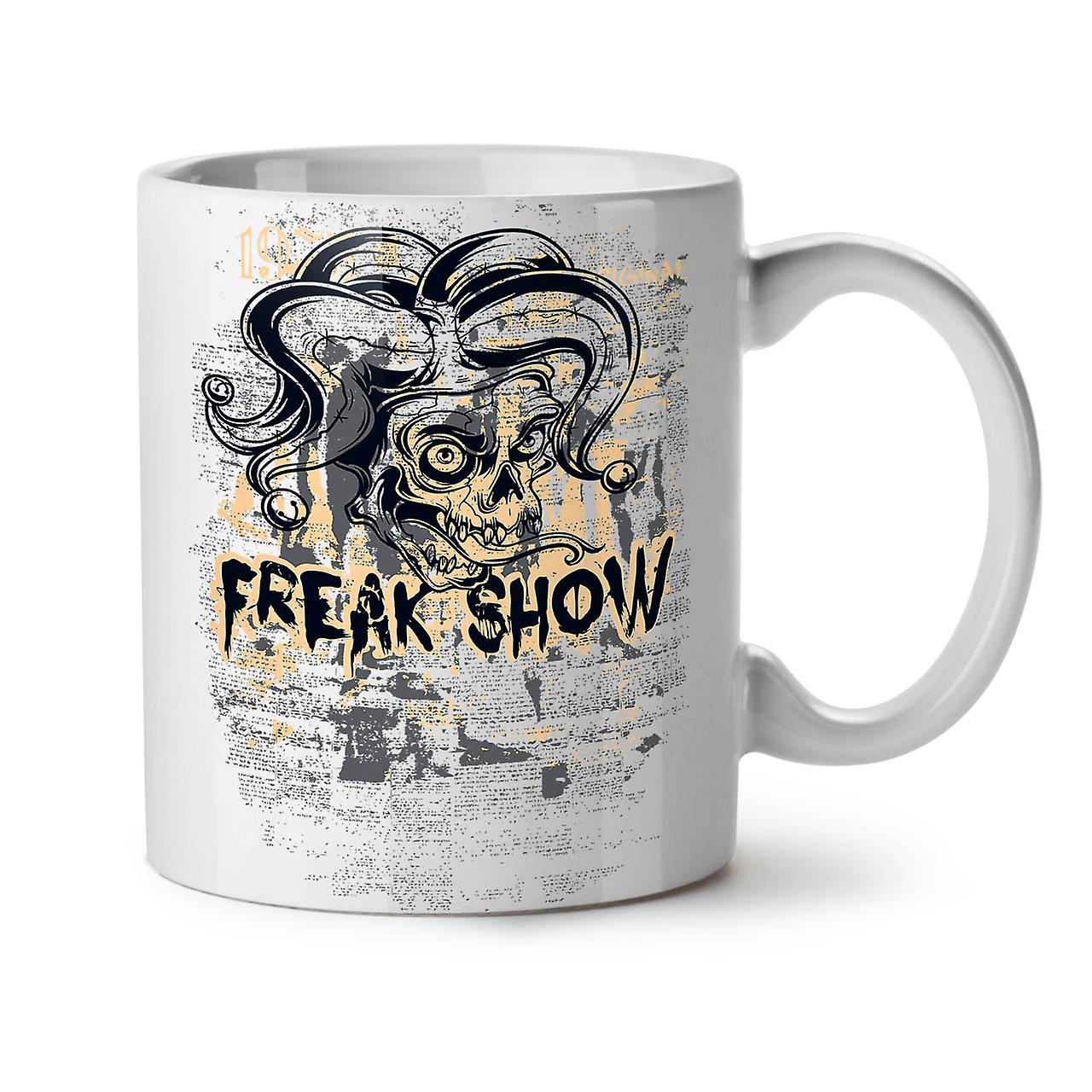 Horreur Thé Céramique Freak Café Show Blanc Tasse 11 OzWellcoda Nouveau NPkXnZw08O