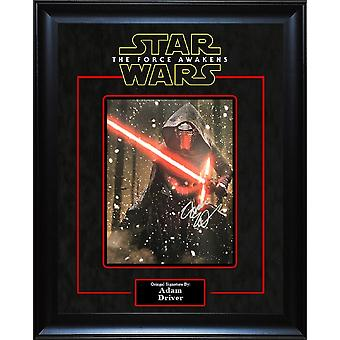 Star Wars - Signed by Adam Driver - Framed Artist Series