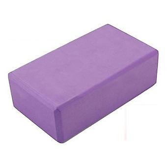 Kabalo lilla 1 x Yoga & Pilates EVA Foam blok / mursten! Strække støtte Motion fitness 3