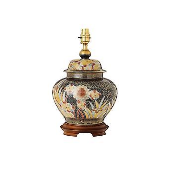 Interiors 1900 Kutani Kew Single Light Large Ceramic Table Lamp