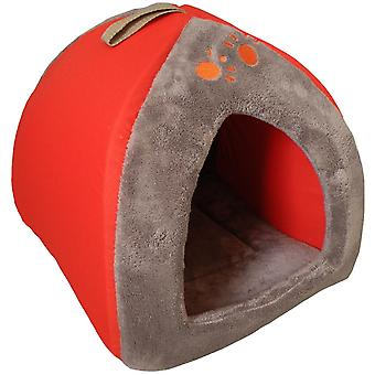Agrobiothers Orange Tipi For Cat  Sweet Home (Cats , Bedding , Beds)